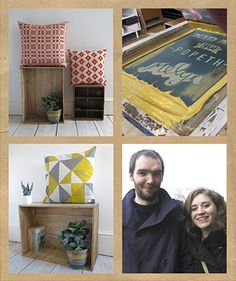 From an inspiring setting on the edge of Snowdonia National Park, Dyfrig Peris and Jennie Corr of Peris & Corr hand print their eclectic designs onto must-have cushions, lampshades, ceramics and stationery.