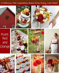 red/rustic/autumn