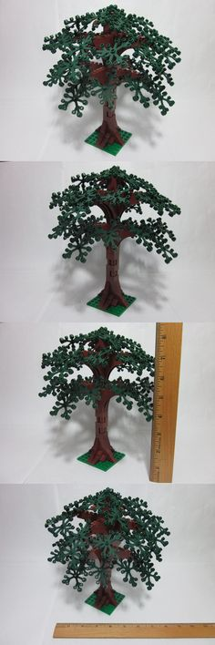 Mixed Lots 183451: Lego Custom Forest Tree 9 Tall, Dark Green Leaves, New Parts, Free U.S. Ship! -> BUY IT NOW ONLY: $39.99 on eBay!