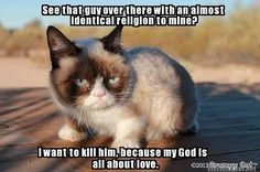 Theology 101 by Grumpy Cat