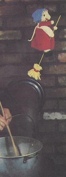 Crochet Kitchen Witch