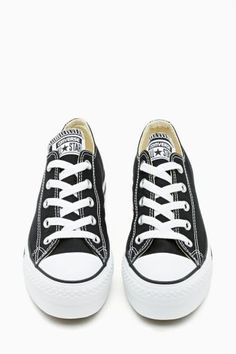 Converse All Star Platform Sneaker in Black