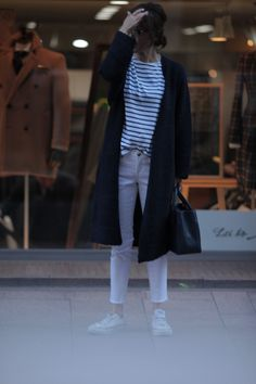 Kyoko Kikuchi's Closet #kk-closet アウターを変えた秋のマリンスタイル