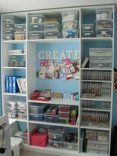 My Scrapbooking/Stamping Room - Bookshelf