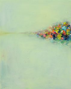 Yangyang Pan (Canada) - Abstract Landscape #3, 2010 Paintings: Oil on Canvas