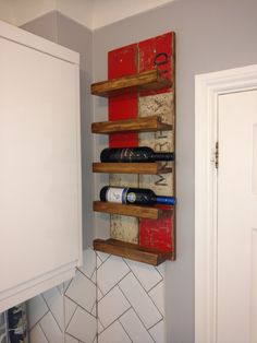 Made a wine rack using some reclaimed wood http://ift.tt/2n0POu2