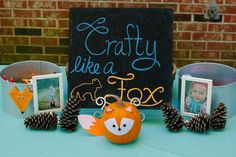 Crafty Like a Fox | CatchMyParty.com