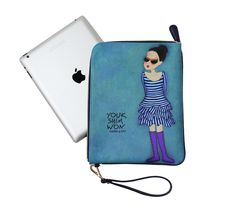 #ipad case / pouch / clutch  YoukShimWon's dodo clutch - Sunglasses Nani