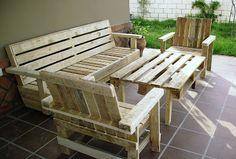Artesanias Labea: Muebles de exterior 100% reciclados