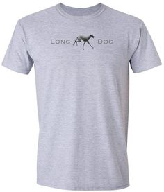Long dog t shirt from Edify Clothing. This is the perfect mans t shirt for a dog lover. A long dog is a cross between two sighthounds - greyhound, whippet, saluki or similar. £11.99. Shipped internationally by Edify Clothing. Click on the image then 'visit site' to go to the listing. Design © Edify Clothing