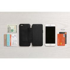 Bellroy Leather iPhone 6s Plus / 6 Plus Phone Wallet - Black