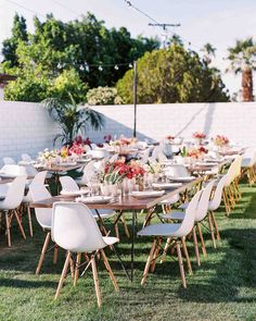Go inside this Palm Springs wedding with a sunrise ceremony and boho decor. Miami Wedding Venues, Wedding Reception Design, Luxury Wedding Venues, Wedding Table, Wedding Receptions, Wedding Ideas, Outdoor Dining Chair Cushions, Outdoor Furniture Sets, Outdoor Decor