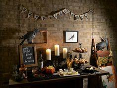 a little Halloween decor and celebration