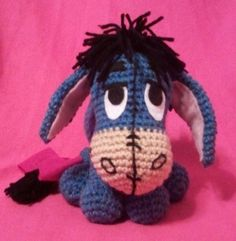 Crocheted toy