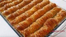 Burma Baklava Recipe with Picture in the Mouth recipe # Şerbetlitatlı on # Şerbetlitatl of Burmese Desserts, Gourmet Recipes, Dessert Recipes, Walnut Recipes, Ramadan Recipes, Yummy Cakes, Hot Dog Buns, Food Pictures, Sausage