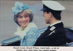 June Prince Andrew and Lady Diana Spencer riding in an open carriage for the Trooping the Colour ceremony. Princess Diana And Dodi, Diana Dodi, Princess Diana Images, Princes Diana, Princess Elizabeth, Prince And Princess, Princess Kate, Princess Of Wales, Elizabeth Ii