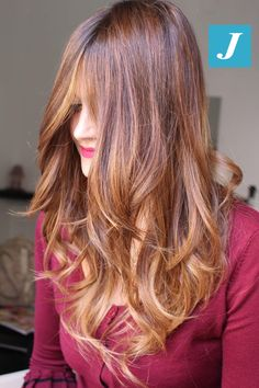 Autumn Shades Degradé Joelle  #cdj #degradejoelle #tagliopuntearia #degradé #igers #musthave #hair #hairstyle #haircolour #longhair #ootd #hairfashion #madeinitaly #wellastudionyc