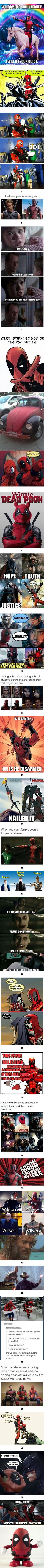 26 DEADPOOL Memes That Will Leave You Bloody and Breathless