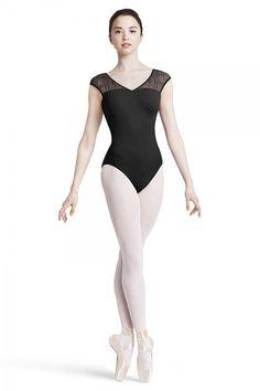 48f543e6d5bd0 Crinkle mesh bow back cap sleeve leotard Content: 90% Nylon 10% Spandex  Matte