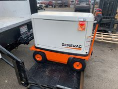 A great way to make you generator portable is take a look at our All-Terrain Electric Pallet Trucks and Utility Carts Electric Utility, Pug, Pallet, Deck, Platform, Trucks, Technology, Tech, Shed Base