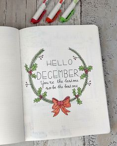 Hello Christmas theme! It's finally there, the last month of the year! In a few hours I will publish my complete December setup on www.howtobulletjournal.com