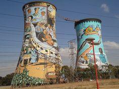 Soweto's Orlando Towers