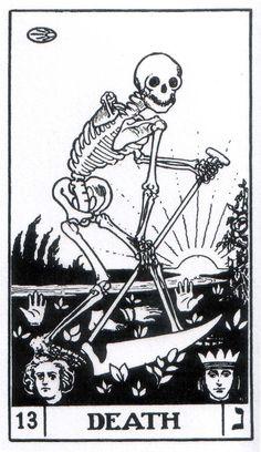 Death - Builders of the Adytum Tarot (B.O.T.A. Tarot)