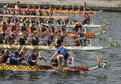 Dragon Boat Racing - great team building exercise - especially in the friggin cold and getting soaked like i did this past year Team Building Exercises, Dragon Boat Festival, Beer Festival, Richmond Virginia, Great Team, Rowing, Sailing Ships, Past, Chicago