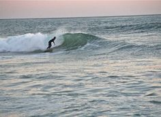 "Caught this at San Clemente on a day when the surf was super ""up"""