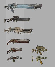 ArtStation - Weapons - 19th Century, Ted Beargeon