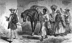 Returning from slave market, Brazil - Jean Baptise Debret