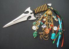 New! Osiris Athame -Embellished to honor the God Osiris, $45  http://etsy.me/1reRiKY via Etsy