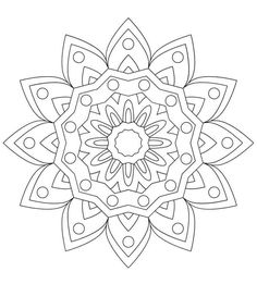 You need to fill shades in these mandala coloring sheets to make them complete. So fill these coloring pages of mandala right now. Mandala Painting, Mandala Drawing, Dot Painting, Painting Patterns, Mandala Art, School Coloring Pages, Adult Coloring Book Pages, Mandala Coloring Pages, Colouring Pics