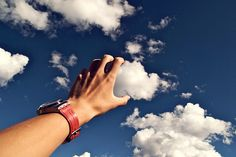 I wish I could touch the clouds.  Cloud