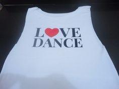 remeras de danza