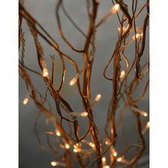 I LOVE branches for decorating and centerpieces.... lighted ones are even better!
