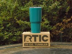 Personalized  20 oz RTIC Tumbler with 1 color of Powder Coating by NeverlandExpressions on Etsy