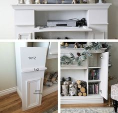 Fireplace surround yourself build – DIY instructions for decorative fireplace   one Decor