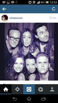 But first, let me take a selfie. MARVEL'S AGENTS OF S.H.I.E.L.D Casts.