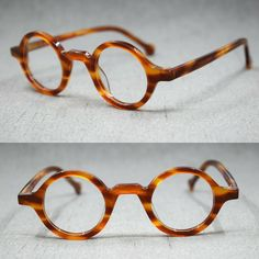Small Round Glasses, Mens Glasses Frames, Eyeglass Frames For Men, Fashion Eye Glasses, Round Eyeglasses, Clip On Sunglasses, Optical Glasses, Sunglass Frames, Tortoise