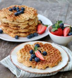 25 ulike tips til korleis du kan bruke dei! Cake Cookies, Waffles, Brunch, Healthy Recipes, Healthy Food, Dessert, Baking, Breakfast, Tips