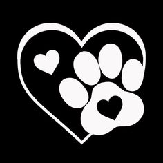 "This listing is for a cute heart and paw vinyl decal, perfect for any animal lover. The decal is made of high quality outdoor vinyl that can be placed on car or truck windows, notebooks, cups, tumblers, lockers, etc. Vinyl adheres best to hard, smooth surfaces, but is not recommended for use on interior walls. The decals are removable but not reusable. Item is shipped ready to apply and with easy-to follow instructions. Decal is approximately 3.25"" x 3"". Ordering To order, choose your color… Custom Decal Stickers, Vinyl Decals, Car Decal, Wall Stickers, Wall Decals, Wall Art, Vinyl Crafts, Vinyl Projects, Coeur Tattoo"
