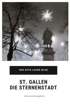 St. Gallen in der Vorweihnachtszeit mit einer abgesagten Stadtführung, einem Besuch im Bierflaschenmuseum und einem Sternenmeer. St Gallen, Blog, Beer Bottles, Xmas Lights, Brewery, Good Mood, Old Town, Advent Season, Switzerland