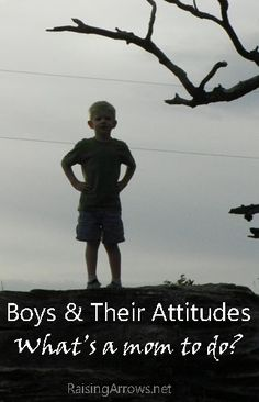 How to handle Boys and Their Attitudes | RaisingArrows.net