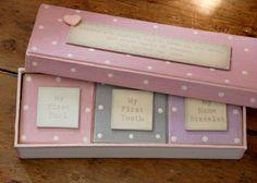 Baby Keepsake Boxes, New Baby Keepsake Boxes, Baby Keepsake Box, Baby Memory Box, Baby Treasure Box at OhSoCherished.co.uk