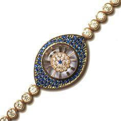 Luna II Small Evil Eye Bracelet