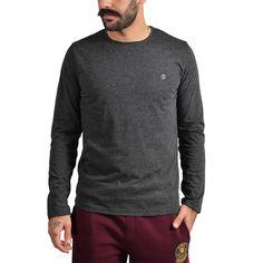 84b9be058c7 Brotherhood Logo Melange Longsleeve Αθλητικα Ρουχα – Sportswear – Ανδρικά  Διατίθεται από το CosmosSport.gr