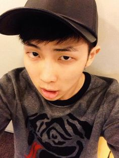 Young Namjoon makes me feel old. :D