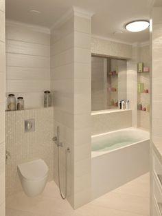 17 Ideas bathroom remodel plans laundry rooms for 2019 Master Bathroom Layout, Beige Bathroom, Modern Bathroom Design, Simple Bathroom, Bathroom Interior Design, Bathroom Design Layout, Attic Bathroom, Bathroom Ideas, Beige Cabinets