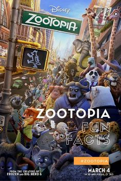 Disney's Zootopia is full of animal laughs, but I bet you didn't know these fun Zootopia facts!